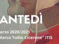Sala Consilina: domani Matteo Fratarcangeli ospite online per il Dantedì organizzato dall'ITIS