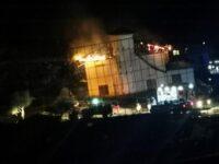 Paura a Sanza per un incendio di un'abitazione. I Vigili del Fuoco evitano il peggio