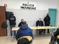 A Salerno presentazione delle attività della Polizia Provinciale. Da Strianese encomio agli agenti