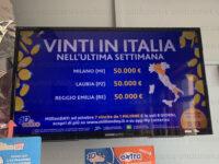 """La dea bendata bacia Lauria. Al """"10 & Lotto"""" vinti 50mila euro con una schedina da 3 euro"""