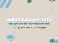 """Agropoli: dal 1° giugno al via """"Subacquea per tutti"""", corsi gratuiti per i diversamente abili"""