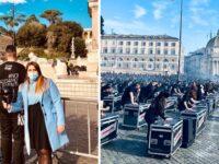 """""""Bauli in Piazza"""". La Pino Pinto Band alla manifestazione di protesta nazionale dei lavoratori dello spettacolo"""