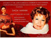 Domani gli studenti del Liceo Classico di Sala Consilina incontrano online la scrittrice Dacia Maraini