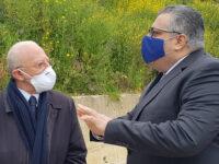Ultimata la bonifica dell'ex discarica di Gorgo ad Agropoli. Stamattina visita del Presidente De Luca