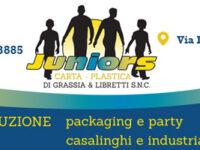 Juniors Carta Plastica – via Lagno Secco, Sassano