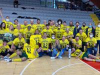 Lo Sporting Sala Consilina vince a Potenza e festeggia lo storico traguardo in serie A2