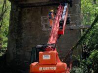 """Al via i lavori sul ponte """"Ruoti-San Cataldo"""" grazie al contributo ottenuto dal Comune di Ruoti"""