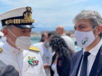 Capitaneria di Porto. L'Ammiraglio Pettorino inaugura a Scario il nuovo Ufficio Locale Marittimo