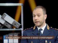 """Il Vice Questore Aggiunto Achille Perone, originario di San Pietro al Tanagro, ospite di """"Quarto Grado"""""""