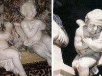 Angeli in marmo rubati dalla Chiesa Madre di Contursi. I Carabinieri li restituiscono al parroco
