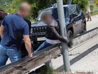 Paterno: auto dei ladri contro quella dei Carabinieri. Un arresto, ricerche per due uomini in fuga