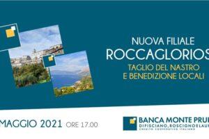 Banca Monte Pruno. Il 12 maggio inaugurazione della nuova Filiale a Roccagloriosa