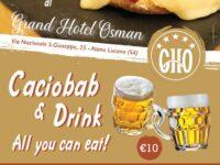 Tutti i giovedì al Grand Hotel Osman di Atena Lucana Caciobab & Drink – All you can eat! –