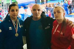 Campionati Italiani Lotta Olimpica. Medaglia d'argento Juniores per Viki Amendola della New Kodokan di San Pietro al Tanagro