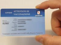 """""""Ripresa dei servizi culturali e sociali con la consegna di Smart card vaccinali"""". Dalla Regione Campania un'ordinanza"""