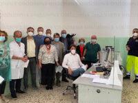 """Centro vaccinale Sala Consilina. Lettieri: """"Le attività procedono bene, i cittadini vogliono vaccinarsi"""""""