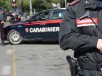 Fugge ad un controllo dei Carabinieri ed esplode in aria colpi di pistola vicino ad una scuola di Salerno