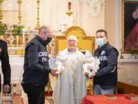Tornano nella chiesa Madre di Contursi Terme gli angeli in marmo rubati diversi anni fa