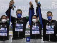 In Ungheria oro per il team italiano di nuoto con Domenico Acerenza di Sasso di Castalda