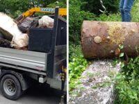 A Polla cittadini e associazioni insieme per ripulire il territorio dai rifiuti abbandonati nella natura