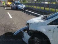 Perde il controllo dell'auto e va a sbattere lungo l'A2 tra Sala Consilina e Padula. Ferito in ospedale