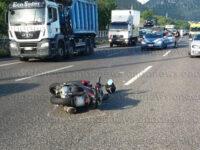 Tragico incidente sull'A2 all'altezza di San Mango Piemonte. Perde la vita motociclista