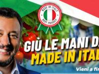 """""""Mangia come parli"""". La Lega Campania nelle piazze del Salernitano a tutela del Made in Italy"""