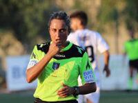 Maria Marotta, della sezione arbitri di Sapri, prima donna nella storia a dirigere una partita di Serie B