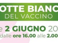 Vaccini anti-Covid. L'1 e 2 giugno notte bianca per over 18 a Bellizzi