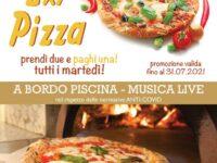 Al Grand Hotel Osman di Atena Lucana ogni martedì prendi due pizze e ne paghi una