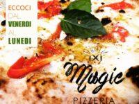 Dal venerdì al lunedì la gustosissima pizza al MAGIC HOTEL di Atena Lucana
