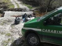 Abbandono di rifiuti a Roscigno. Elevate diverse sanzioni nei confronti di alcuni incivili