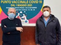 Parte a Roscigno il Punto Vaccinale nella struttura messa a disposizione dalla Banca Monte Pruno