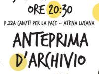 """Atena Lucana: domani presentazione di """"Anteprima d'Archivio"""", progetto con gli studenti di Urbino"""