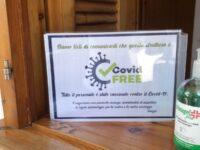 A Camerota una targa per indicare le strutture turistiche Covid free