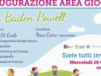 Potenza: oggi l'inaugurazione dell'Area Giochi nel Parco Baden Powell in ricordo di Marisol Lavanga