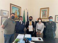 Il Comune di Casaletto Spartano stipula un protocollo d'intesa con la Guardia Nazionale Ambientale