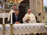 Polla: firmato il comodato d'uso gratuito per la cura del Santuario e del complesso conventuale