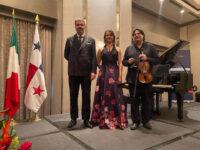 Aria di Polla al 75° Anniversario della Repubblica Italiana a Panama con il Gran Duo Italiano