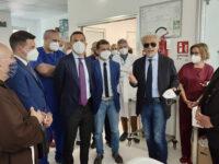 """Inaugurato il nuovo centro Dialisi all'ospedale di Lauria. Leone:"""" Volontà di servire i cittadini"""""""