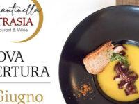 """Domani apertura del ristorante """"La Cantinella Petrasia"""" a Villammare. Pesce fresco ogni giorno e vini pregiati"""