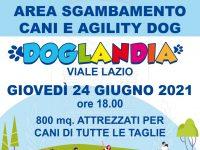 """Ad Agropoli attivata l'area sgambamento cani comunale """"Doglandia"""". Domani l'inaugurazione"""