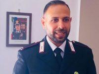 """Il Maresciallo Ordinario Giovanni Saviello arriva al Comando Stazione Carabinieri """"Parco"""" di Castellabate"""