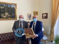 Relazioni culturali ed economiche al centro dell'incontro tra il Prefetto di Salerno e l'ambasciatore d'Algeria Boutache