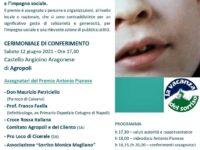 """All'associazione """"I ragazzi di San Rocco"""" il Premio Antonio Pianese. Il 12 giugno la cerimonia di conferimento"""