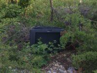 Pattugliamenti sul territorio della Guardia Nazionale Ambientale. A Monte San Giacomo segnalata tv gettata in un terreno