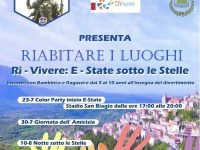 """Palomonte: da domani """"Estate sotto le stelle"""" promossa dalle Acli Athena Aps per la rinascita dei territori"""