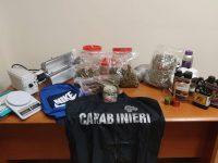 Nasconde in casa un kg di marijuana da spacciare. Arrestato 20enne di Sant'Arsenio