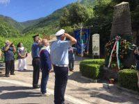 La comunità di Sanza, con una sobria e commovente cerimonia, ricorda la Spedizione di Pisacane