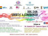 """""""Ddl Zan: libertà a confronto"""". Oggi webinar della Commissione Pari Opportunità della Basilicata"""